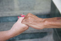 Hands hold Royalty Free Stock Photography