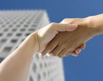 Hands holding Stock Photography