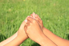Hands holding Royalty Free Stock Photos