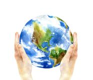 Concept of the Earth Day Royalty Free Stock Photos
