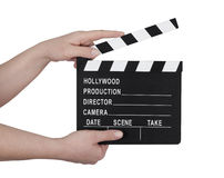Film clapperboard Stock Photo