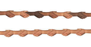 Hands Holding Hands Connection Stock Image