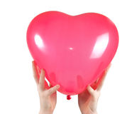 Hands holding heart Royalty Free Stock Photo