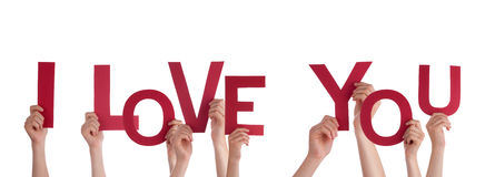 Free Hands Holding I Love You Royalty Free Stock Images - 37470939