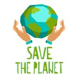 Hands Holding The Planet Royalty Free Stock Photo