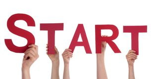 Hands Holding a Red Start