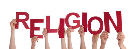 Hands Holding Religion Royalty Free Stock Photo