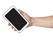 Hands are holding  on Smart Phone,shopping Royalty Free Stock Images