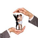 Hands holding women Royalty Free Stock Photos