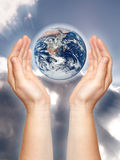 Hands of hope Royalty Free Stock Photography