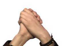 Hands of hope Royalty Free Stock Image