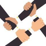 hands human teamwork isolated icon Stock Photos