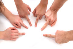 hands humanen Royaltyfria Bilder