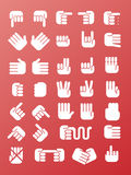 Hands icon Stock Image