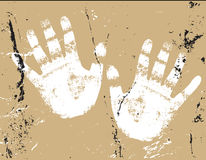 Hands Illustration. Vector grunge - Hands illustration. eps file abailable Stock Photos