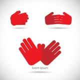 Hands Illustration Stock Photo