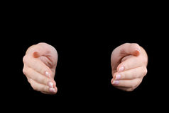 Hands joined together Royalty Free Stock Image