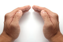 Hands joined together Stock Image