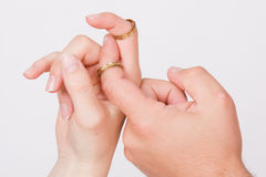 Hands in love Royalty Free Stock Photos