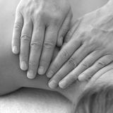 Hands of massage therapist Royalty Free Stock Photos