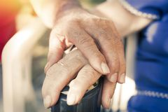 Free Hands Of Older Adults Stock Photos - 107285613
