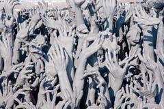 Hands og sin men Stock Image