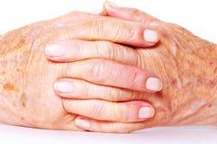 hands old Στοκ Φωτογραφία