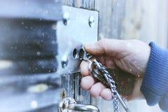 Hands open lock stock photos