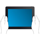 Hands-pad-3 Royalty Free Stock Images