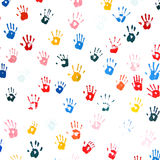 Hands paint Royalty Free Stock Image