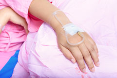 Hands of patients Royalty Free Stock Photography