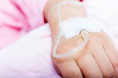 Hands of patients Stock Photography
