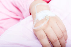 Hands of patients Royalty Free Stock Images