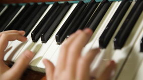 Hands Pianist Royalty Free Stock Photos