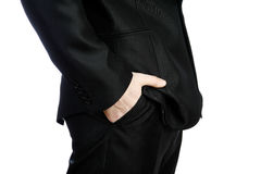 Hands in pockets Stock Photography