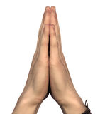 Hands of pray Royalty Free Stock Photography