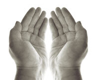 Hands prayer