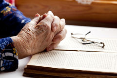 Hands Praying Royalty Free Stock Images