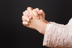 Hands Praying Royalty Free Stock Image