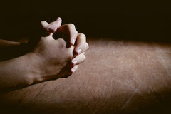 Hands Of Praying Royalty Free Stock Image