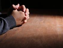 Hands Of Praying stock image