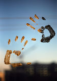 Hands print Royalty Free Stock Photography