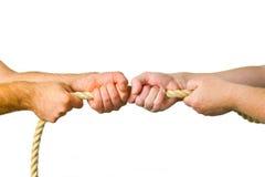 hands pullrepet Royaltyfri Bild