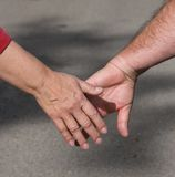 Hands reaching Stock Photos