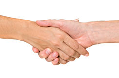 Hands ready for handshaking Stock Photo