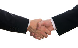 Hands shake Royalty Free Stock Photos