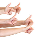 Hands showing that everything is okay Stock Photography