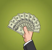 Hands Showing Money 2 Royalty Free Stock Photo