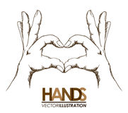 Hands signals Royalty Free Stock Image