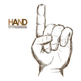Hands signals Royalty Free Stock Photo